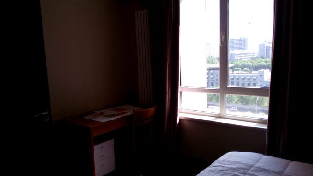 Guest bedroom view.