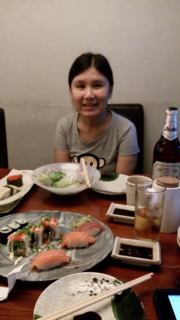 belle sushi