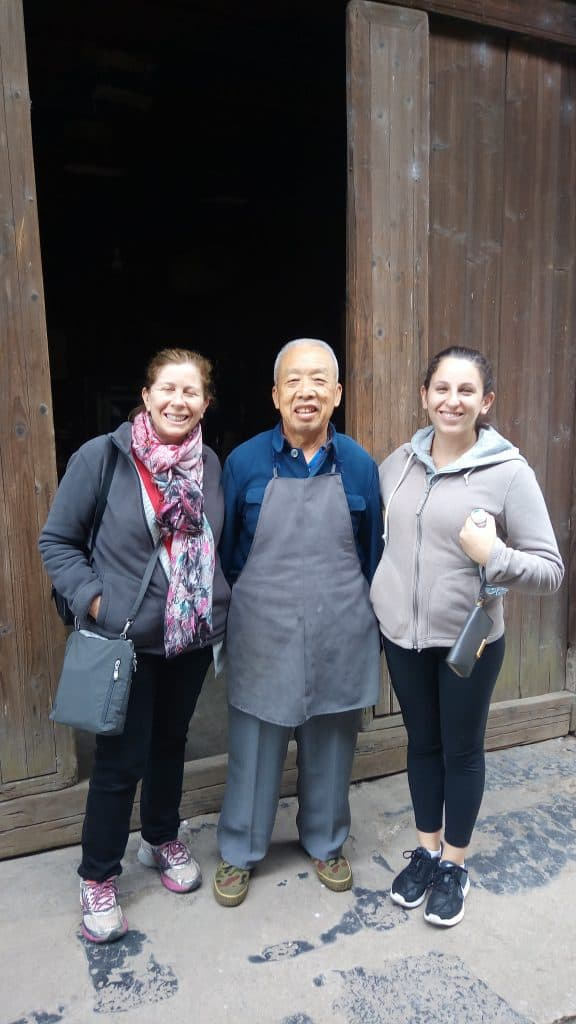 I forgot this gentleman's name but he gave us a tour of his home in Daxu village. I seem to recall that home being constructed many hundreds of years ago.