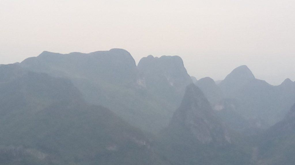 You can get a sense of the uniqueness of the karsts that dot the landscape but the more amazing ones are along the Li River which will be highlighted in the next post.