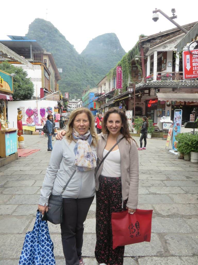 Our first day in Yangshuo